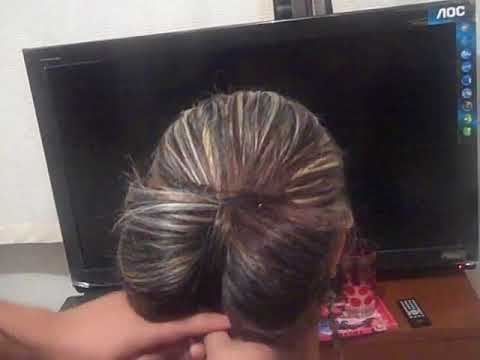 GabyTips, peinado de fiesta, crea un moño con tu propio cabello