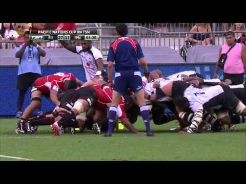 Japan vs. Fiji — PNC 2015 — Highlights