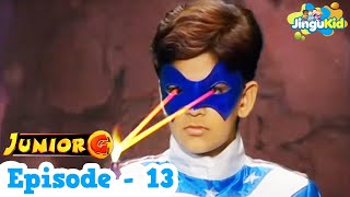 Junior G Episode 13 - Hindi | Popular TV Series For Kids | HD SuperHero TV Show | ज्युनियर जी कड़ी-13