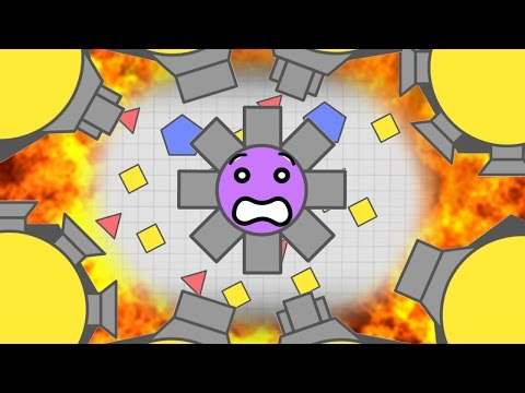 Diep.io INSANE FUNNEST MAX LEVEL OCTO-TANK DOMINATION GAMEPLAY! | Diep.io Funny Moments