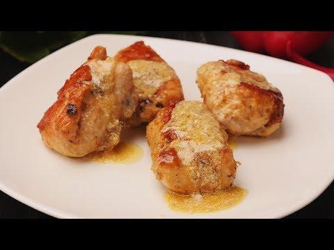 Куриные рулетики с грибами - Рецепты от Со Вкусом