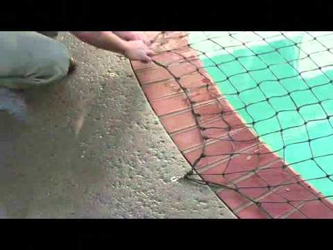 How To Put On Pool Safety Net Covers All Safe Pool Nets