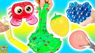 Squishy Cutting Week Day 4! Making SLIME Out of Squishy Toys! Doctor Squish