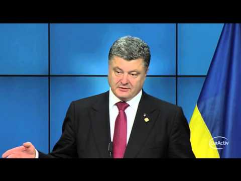 Ukraine's Poroshenko replies to nazi name calling: Putin's adviser is a muppet