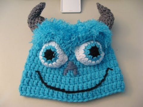 Blue monster Beanie  Video Two