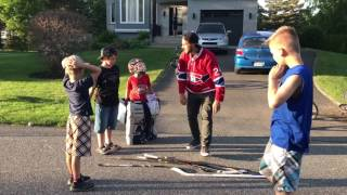 Hockey de rue avec Phillip Danault