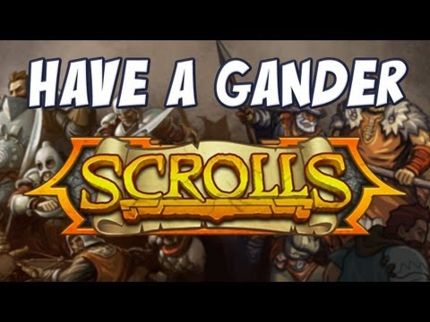 Have A Gander - Scrolls (Alpha Build)