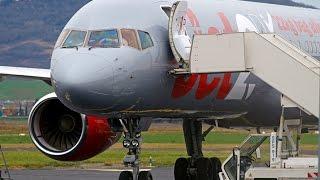 Download Lagu [RARE] Diverted Jet2.com Boeing 757-200 G-LSAH at Clermont Auvergne Airport! Gratis STAFABAND
