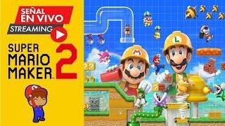La basura mas grande que jugare / Nivel de OREGANO / Super Mario Maker 2 EN VIVO!!