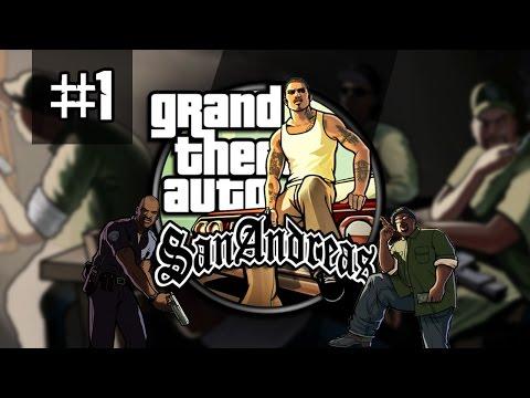 MEGA KLASYK GTA SAN ANDREAS #1 PC PL Vertez+ Gameplay Zagrajmy w