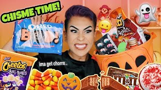 SPOOKY SZN JUNK FOOD MUKBANG!! | Louie's Life