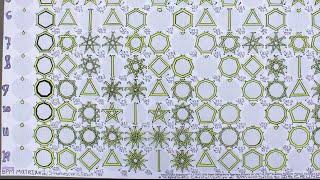 BPM Matrix #2: Stroboscopic Crystalization øf Vinyl BPM Solids ((English))