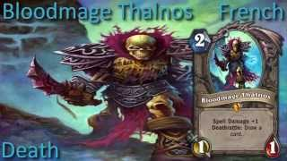 Bloodmage Thalnos card sounds in 12 languages -Hearthstone✔