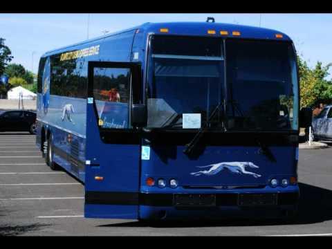 Detroit Diesel Series 60 >> 2009 Greyhound Bus Line Prevost X345 #86083 - YouTube