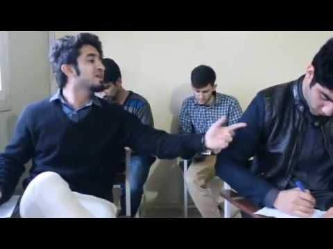 Funny video Bollywood songs in exam hall
