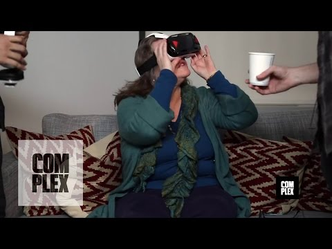 VR Porn Reactions on Oculus From Old People