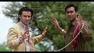 Saif Ali Khan & Ajay Devgn's Great Escape | Kachche Dhaage Movie Scene