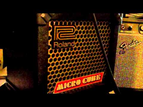 Roland Micro Cube amplifier MP4 tutorial new info about effects...