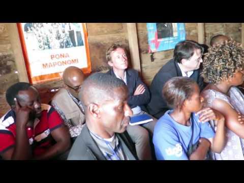 Le soutien de la communauté internationale à  la province du Nord Kivu est réconfortant
