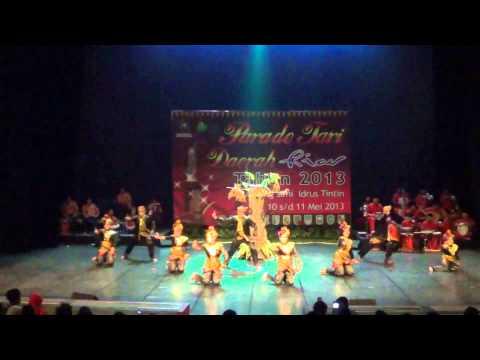 Parade Tari Daerah Riau-pekanbaru video
