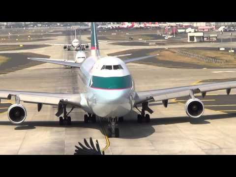 Cathay Pacific Cargo Boeing 747 at CSIA Mumbai