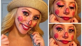 Sweet Scarecrow! Halloween Make Up Tutorial!