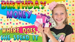 SPENDING ALL MY BIRTHDAY MONEY!!