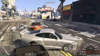 GTA 5 Grand Theft Auto 5 (2015) Gameplay GeForce GTS450 - Intel Core i3 3.2GHz - 4GB RAM