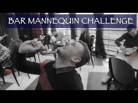 BAR MANNEQUIN CHALLENGE FAIL! | МАНЕКЕН ЧЕЛЛЕНДЖ В БАРЕ с плохим финалом