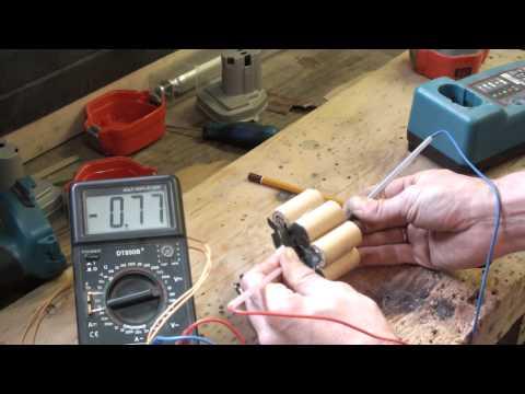 Видео как проверить шуруповерт мультиметром