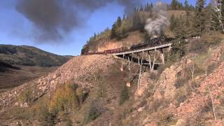 Steam in the Rockies - Chama Steam 2013 - D&RGW 315 & 463 on the C&TS