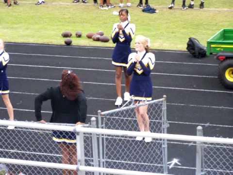 Battery Creek High School cheerleaders