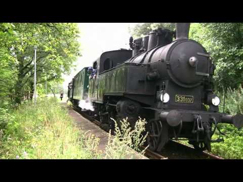 Historicky vlak - Nostalgia - Brestovec 2010 (28. 8.)