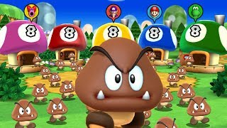 Mario Party 9 - Set It Up: Mario vs Waluigi vs Yoshi vs Birdo