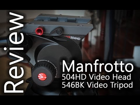 Manfrotto 504HD + Manfrotto 546BK Tripod Review