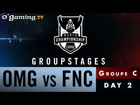 World Championship 2014 - Groupstages - Groupe C - OMG vs FNC