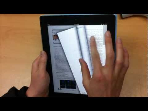 Thumbnail of video [KAIST ITC] Smart E-Book Interface Prototype Demo