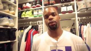 "A ""Sneak Peek"" Inside Shelden Williams' Sneaker Closets"