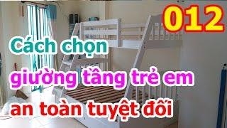 Đồ Gỗ Xuất Khẩu - Chuyên gia chỉ cách chọn giường tầng trẻ em an toàn tuyệt đối