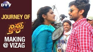 NINNU KORI Movie Making Journey at Vizag  Nani  Ni