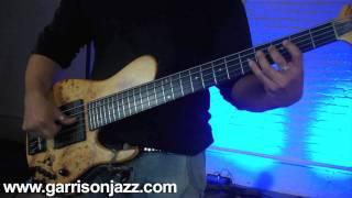 Matthew Garrison 4 Finger Technique - Groove Applications
