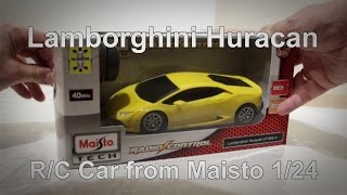 Lamborghini // Huracan // RC // 1/24 // Maisto // Unboxing