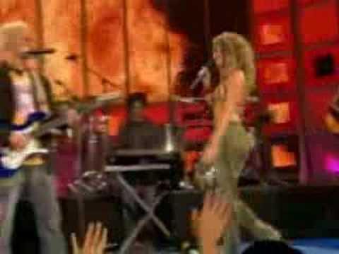 Shakira n Alejandro Sanz - La Tortura Live (sexy)