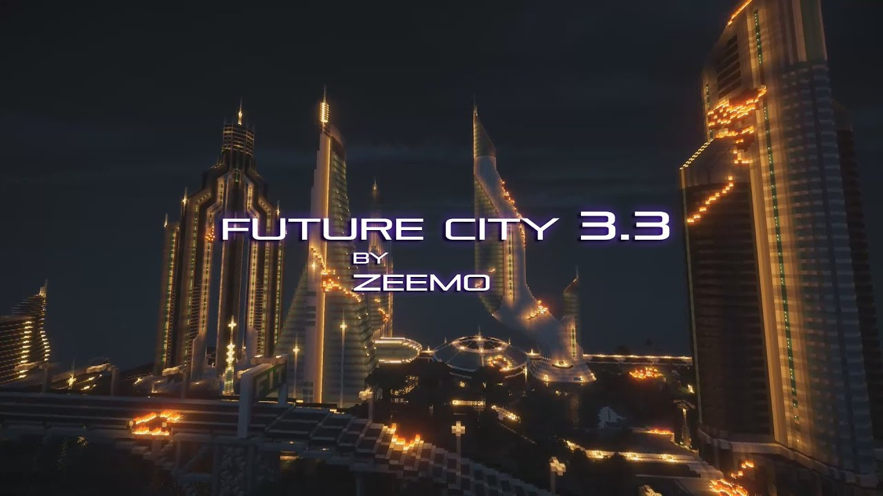 Minecraft Future City 3 3 The Asteroid The Final