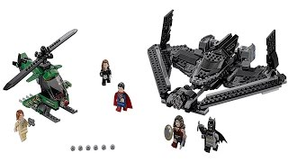 LEGO 76046 Heroes of Justice Sky High Battle Super Heroes (Instruction Booklet)