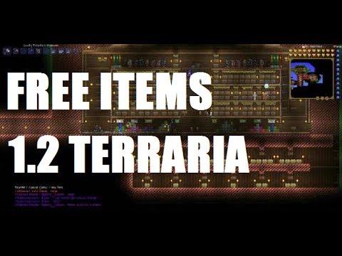 Terraria 1.2 Free Items server