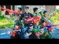 LTT Nerf War : Special Task SEAL X Warriors Nerf Guns Fight Criminal Group Police Captain Patrol
