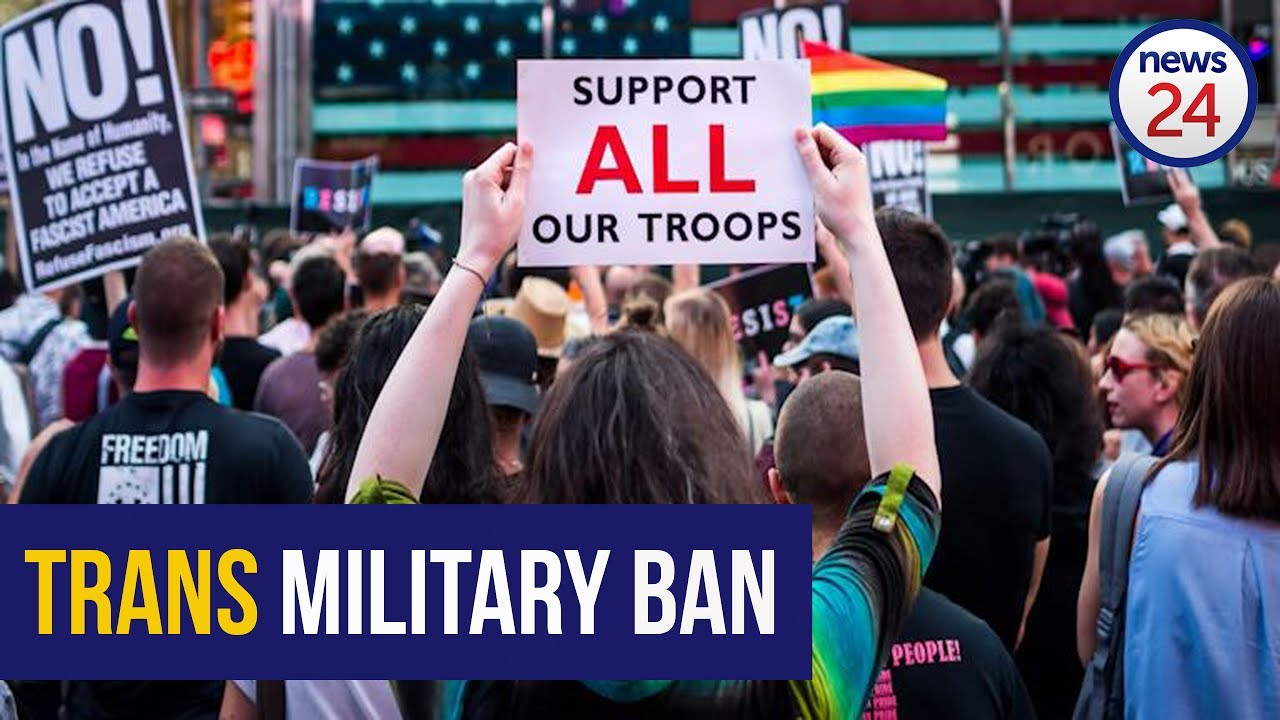 WATCH: President Trump's transgender military ban leaves trans veterans 'shocked'