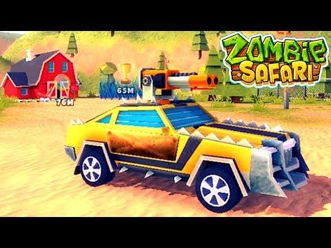 МАШИНЫ против ЗОМБИ zombie safari #28 монстр тачки МАШИНКИ VIDEOS FOR KIDS game car игра как мультик
