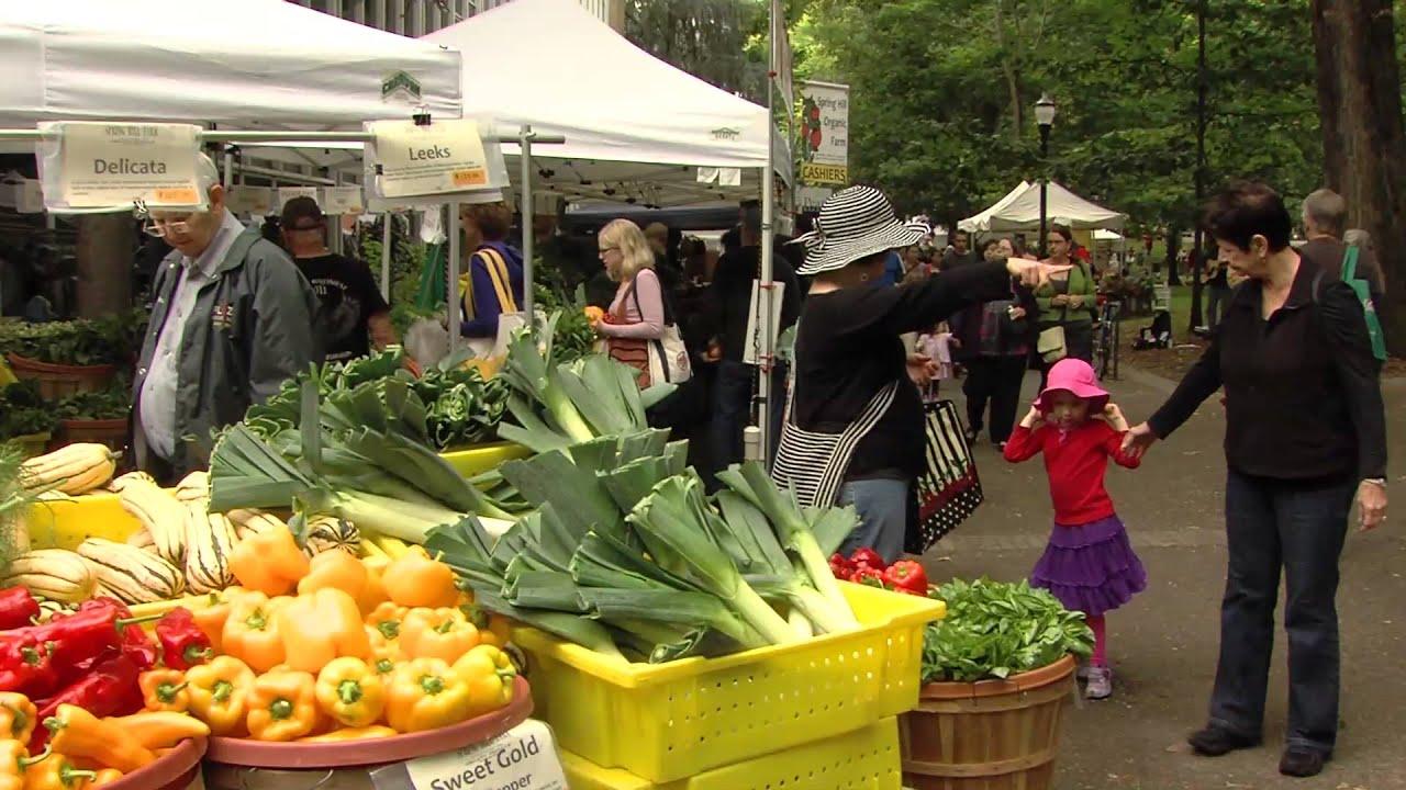 Sustainable Farmers Markets Portland Farmers Market
